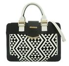 Elegant Womens Faux Leather Handbag Aztec Print Shoulder Bag Office Fashion