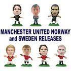 MANCHESTER UNITED MicroStars - Norway and Sweden Release Choice of 8 different