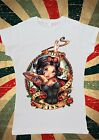 Disney Princess Snow White Seven Dwarf Women T-Shirt Vest Tank Top W128