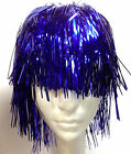 Metallic Tinsel  Costume Wig Dress up Wig  Theatrical Wig