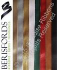 Berisfords 3mm 10mm 15mm TEXTURED METALLIC Ribbon - CHOOSE SHADE & LENGTH