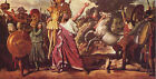 Romulus, Conquerer by Ingres (classic Roman art print)