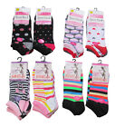 Ladies Womens Gym Sports Trainer Socks Liners 3, 6 or 12 Pairs.   4 - 7  UK New