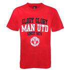Manchester United FC Official Football Gift Boys Graphic T-Shirt Red(RRP £9.99)