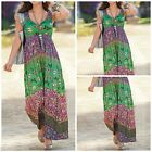 NEW TOGETHER PLUS SIZE MAXI DRESS GREEN PINK BUTTERFLY SUMMER CRINKLE SZ 18 - 32
