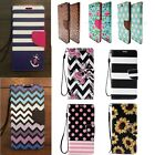 For Samsung Galaxy S 6 Phone PU Flip Cover Stand Wallet Credit Card Leather Case