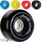 "KRYPTO ""Paname"" Quad Roller Skate Derby Wheels x8 Kryptonics Outdoor 62mm 84a"