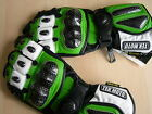 Motorcycle Gloves-Leather Carbon Fiber Kevlar Gauntlet half cost of Icon REV'IT!