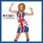 Womens Ginger Spice Girls Fancy Dress Costume