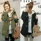 Women's Winter Long Sleeve Warm Top Hoodies Parka Fur Causal Coat Outwear Jacket