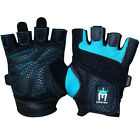 MEISTER WOMEN'S FIT WEIGHT LIFTING GLOVES  Ladies Gym Workout Crossfit TURQUOISE