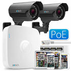 2x 1.3 MP 960P Zoom Focus Cam + Full HD Recorder Complete PoE IP P2P QR CCTV Kit
