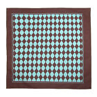 New CTM Unisex Diamond Print Bandana