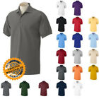 Gildan DryBlend Mens Polo Sport Shirt Jersey T-Shirt All Colors Size S-5XL WHOLE