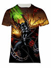 NEW SPAWN DEMON KNIGHT COMICS OVER PRINTED UNISEX SHORT SLEEVEES  TEE SHIRT