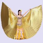 Egyptian Egypt Belly Dance one piece 360 Isis Wings  no stick  11 colors