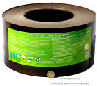Recycled Plastic Lawn Edging Roll Black, Green, Brown for Lawns,Paths,Gravel 1mm