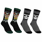 Breaking Bad Official Gift 2 PAIR Pack of Mens Socks (RRP £9.99!)