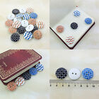 20/50/100Pcs Bulk Stylish Wonderful Sewing Buttons Scrapbooking 2 Holes Fashion