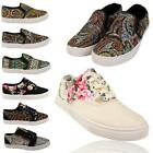 Ladies Designer Shoes Art Floral Canvas Gold Metal Flap Girls Pumps Rubber Sole