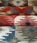 Durable & heavy-duty jaquard upholstery fabric, 4 colours, chenille