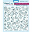 "Crafters Companion Embossalicious  Embossing Folder 8""x 8"" REDUCED *"