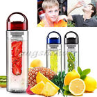 700ML BPA FREE Fruit Fuzer Infusing Infuser Water Bottle Sports Juice Maker
