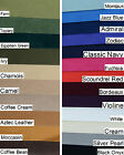 ULTRASUEDE IN 23 COLOURS 2 SIZES BEAD SOUTASH BACKING BANGLE COVER