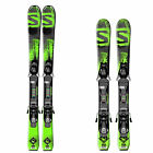 Salomon Q Max Junior Ski Incl. Bind. - Children Skiset All Terrain Rocker