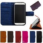 Gavialis Standing Diary Leather Case For Samsung Galaxy S4 i9500/S4 Active i9295