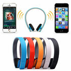 Wireless Bluetooth 4.0 Stereo Headset Headphone Hands-Free for iPhone Samsung LG