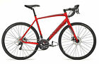 Ridgeback Advance 7.0 Road Commuting Bike, Alloy Frame Carbon Fork - Matt Red