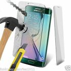 Samsung Galaxy S6 Edge Crystal Clear Tempered Glass Film LCD Screen Protector