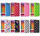 I3C Fashion Polka Dot Silicone Gel Soft Case Cover For Samsung S5 S6 Note 4 e@hb