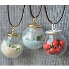 1Pc 2cm Glass Ball Pendant Handmade Accessories Jewelry Necklace Decoration DIY