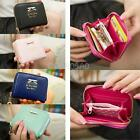 #gi Women PU Leather Zip Around Wallet Small Coin Purse Card Holder Handbag Tote