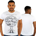 Whisky Family Tree Print Fitted T-Shirt Urban life Monkey Business Hip Hop