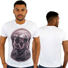 Astronauts Skull Moon Print Fitted T-Shirt Urban life Monkey Business HipHop