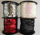 Sequin Row Trim 5mm wide - choose length & colour - Sewing, Art, Crafts (H)
