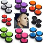 2X Stainless Steel Fake Cheater Ear Plug Gauge Illusion Body Jewelry Pierceing