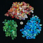sea beach glass 20 pieces lot bulk wholesale 12-18mm blue green red jewelry use