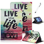 "For Samsung Galaxy Tab 2 10.1"" GT-P5113 P5100 Universal Leather Case Cover +Pen"