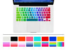 Korean Rainbow Silicone US Keyboard Cover Skin Film For Macbook Pro Air 3 15 17