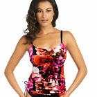 NEW Fantasie Swimwear Ecuador Adjustable Tankini Top Magenta 5917 VARIOUS SIZES