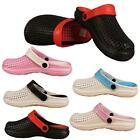 Womens Slippers Clogs Casual Mules Nursing Holiday Beach Sandal Ladies Shoes UK