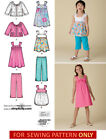 SEWING PATTERN! MAKE GIRL TOP~PANTS~DRESS~JACKET! SIZE 3~6/7~14! SUMMER CLOTHES!