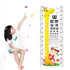 Внешний вид - Unisex Kids Growth Height Measuring Cartoon Attractive Chart Decal Wall Sticker