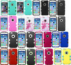 "FOR Apple iPhone 6 / 4.7"" TUFF solid Hybrid hard Case Rubberized Slim Protector"