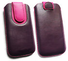 Stylish PU Leather Pouch Case Sleeve for Woxter, Szenio & Wolder Smarpthones