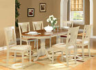 Plainville 7 Pieces dining room set for 6-dining table with 6 Dining Chairs